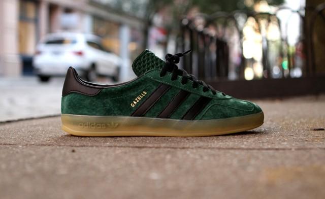 sale retailer 9b133 cf341 Sneakers Adidas Gazelle Indoor – Dark Green  Black  Otherswo